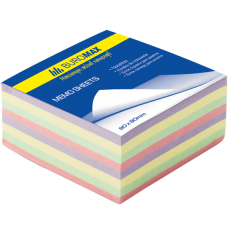 Блок бумаги ДЕКОР 80х80х30мм, не склеенный