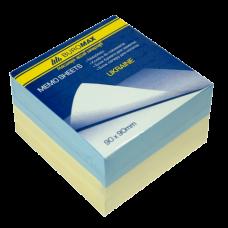 "Блок бумаги для заметок ""Украина"" 90х90х60мм, склеенный"