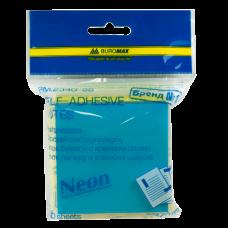 Блок для заметок NEON 76 x76мм, 300 листов, с клейким слоем