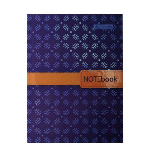 Блокнот INSOLITO, А-5, 96л., клетка, тв. картонная обложка, синий