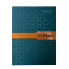 Блокнот INSOLITO, А-5, 96л., клетка, тв. картонная обложка, бирюзовый