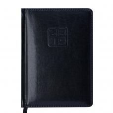 Ежедневник датированный 2019 BRAVO (Soft), A6, черный