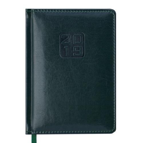 Ежедневник датированный 2019 BRAVO (Soft), A6, зеленый