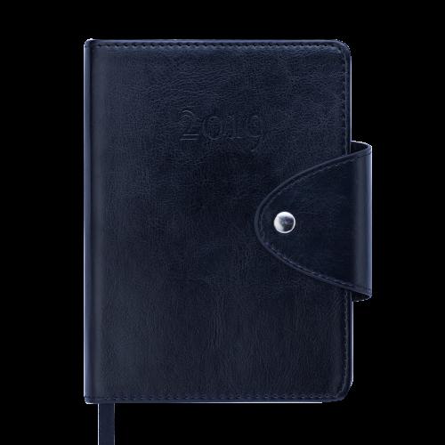 Ежедневник датированный 2019 BUSINESS, A6, черный
