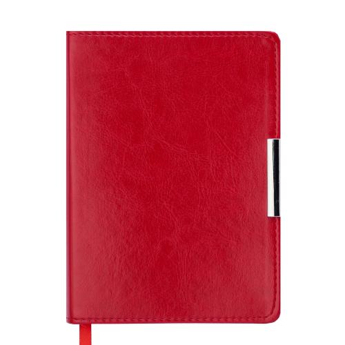 Ежедневник датированный 2019 SALERNO, A6, 336 стр. красный