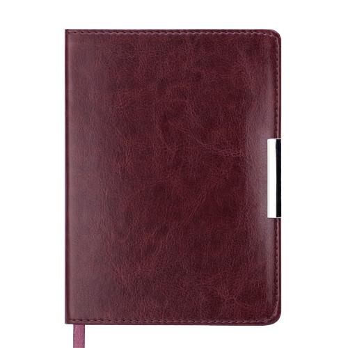 Ежедневник датированный 2019 SALERNO, A6, 336 стр. коричневый