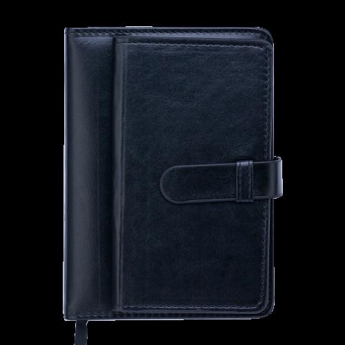 Ежедневник датированный 2019 EPOS, A6, 336 стр., черный