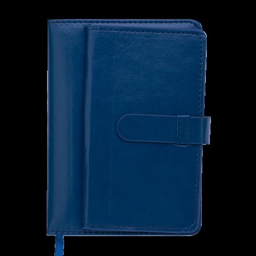 Ежедневник датированный 2019 EPOS, A6, 336 стр., т-синий
