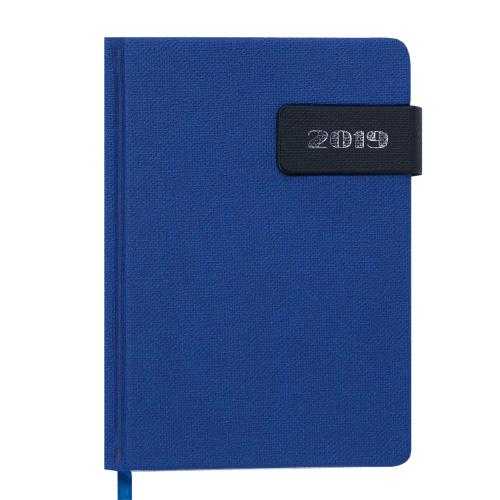 Ежедневник датированный 2019 WINDSOR, A6, 336 стр., синий