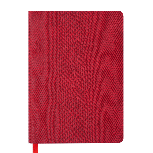Ежедневник датированный 2019 WILD soft, A6, 336 стр., красный