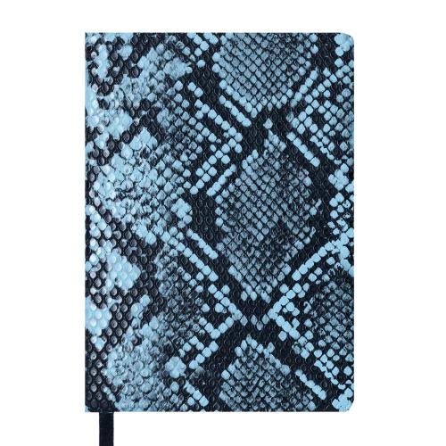Ежедневник датированный 2019 WILD soft, A6, 336 стр, голубой