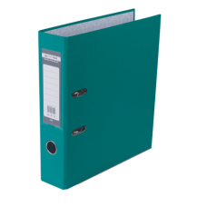 Регистратор односторонний А4 LUX, JOBMAX, ширина торца 70мм, бирюзовый
