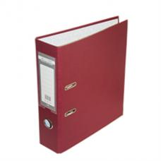Регистратор односторонний А4 LUX, JOBMAX, ширина торца 70мм, бордовый