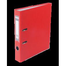 Регистратор односторонний А4 LUX, JOBMAX, ширина торца 50мм, красный
