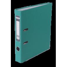 Регистратор односторонний А4 LUX, JOBMAX, ширина торца 50мм, бирюзовый
