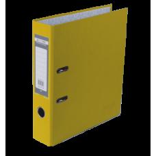 Регистратор односторонний А4 LUX, JOBMAX, ширина торца 50мм, желтый