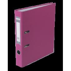 Регистратор односторонний А4 LUX, JOBMAX, ширина торца 50мм, розовый