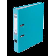 Регистратор односторонний А4 LUX, JOBMAX, ширина торца 50мм, голубой