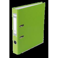 Регистратор односторонний А4 LUX, JOBMAX, ширина торца 50мм, салатовый