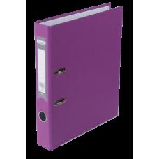 Регистратор односторонний А4 LUX, JOBMAX, ширина торца 50мм, сиреневый