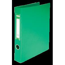 Папка на 2-х кольцах А4 BUROMAX, ширина торца 40 мм, зеленый