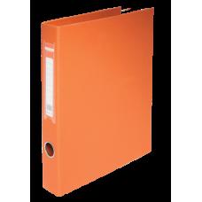 Папка на 2-х кольцах А4 BUROMAX, ширина торца 40 мм, оранжевый