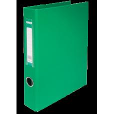 Папка на 4-х кольцах А4 BUROMAX, ширина торца 40 мм, зеленый
