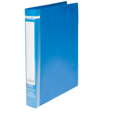 Папка на 2-х кольцах А4 JOBMAX, ширина торца 25 мм, синий