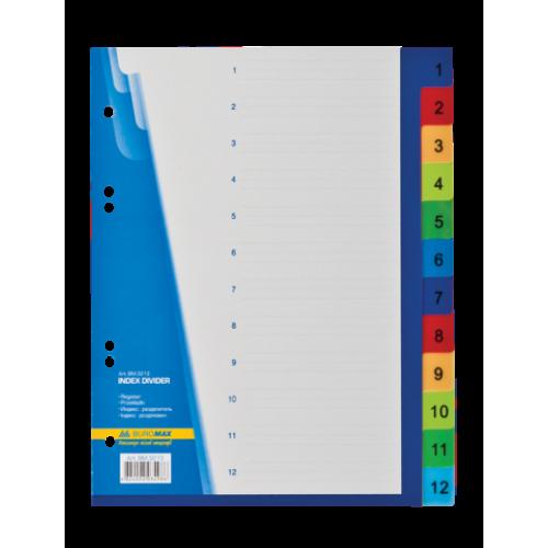 Цифровой индекс-разделитель для регистраторов А5, 12 позиций
