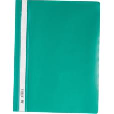Скоросшиватель А4, зеленый