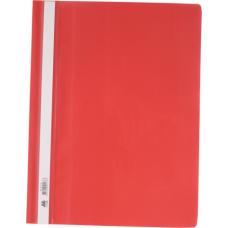 Скоросшиватель А4, красный