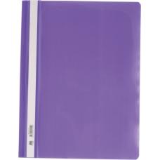 Скоросшиватель А4, фиолетовый
