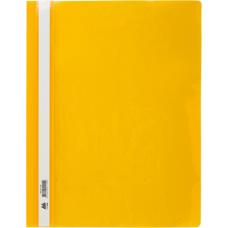 Скоросшиватель А4, желтый