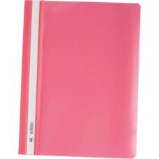 Скоросшиватель А4, розовый