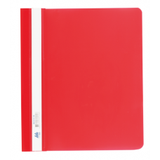 Скоросшиватель А5, красный