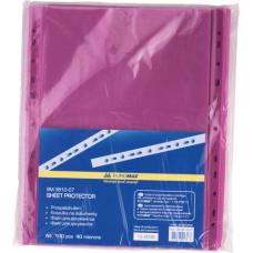 Файл для документов А4+40мкм, PROFESSIONAL, 100шт., фиолетовый