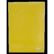 Папка-уголок А4 JOBMAX, желтый