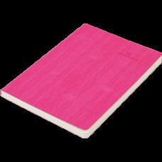 Блокнот деловой COLOR TUNES А5, 96л., линия, обложка искусственная кожа, розовый