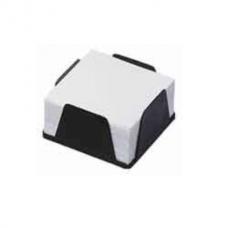 Бокс с белой бумагой 90х90х45мм, 500л., черный