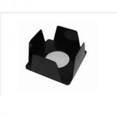 Бокс для бумаги 90х90х45мм, черный