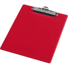 Клипборд Panta Plast, А5, PVC, красный