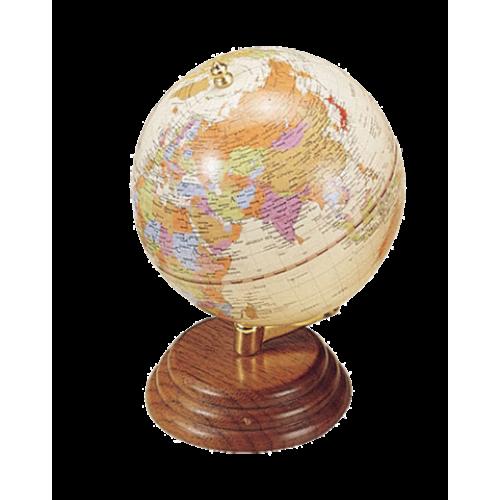 Глобус настольный, орех
