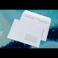 Конверт DL (110х220мм) белый СКЛ с окном 45х90мм