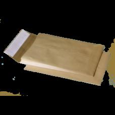 Конверт С4 (229х324мм) коричневый СКЛ с расширением по узкой стороне