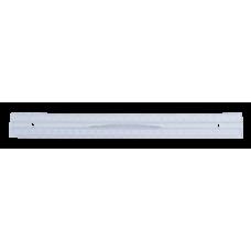 Линейка пластиковая 30см, с ручкой