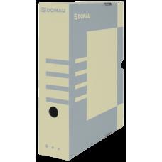 Бокс для архивации документов, 80 мм, DONAU, крафт