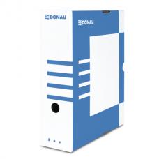 Бокс для архивации документов,100 мм, DONAU, синий