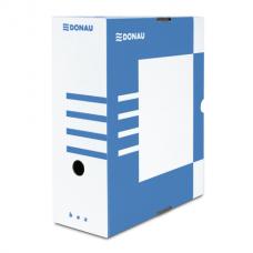 Бокс для архивации документов,120 мм, DONAU. синий