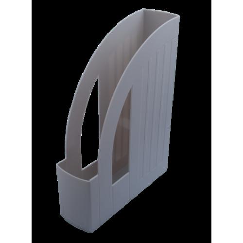 Лоток пластиковый вертикальный, серый