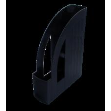 Лоток пластиковый вертикальный, черный